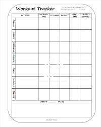 Training Programme Schedule Format Personal Training Program Template