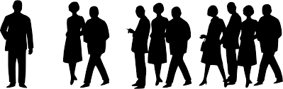 group of people clipart black and white. Brilliant Black Clip Free Download Business People Clipart Silhouettes S Crowd Big For Group Of People Clipart Black And White A
