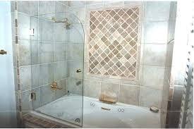 bathroom shower glass doors bathtubs door parts above tub and enclosures