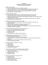 Kumpulan dokumen file guru modul guru pembelajar slb tk sd smp sma smk lengkap 2016. Soal Produk Kreatif Dan Kewirausahaan Kanal Jabar