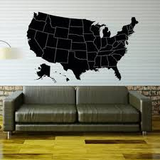 world map wall decal geographical world from coolvinyldesign on