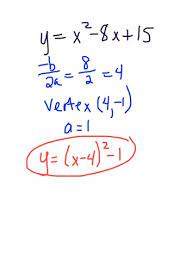 changing quadratic functions from