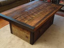 featured photo of rustic storage diy coffee tables