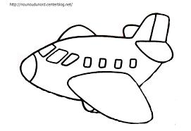 Dessin De Coloriage Avion Imprimer Cp02366