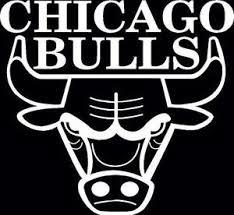 bulls logo black and white. On Bulls Logo Black And White