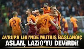 Galatasaray, Lazio'yu devirdi! - Tüm Spor Haber