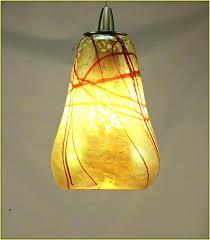 blown glass light pendants hand blown blue glass pendant light