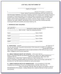 Get last will and testament forms free printable. Example Will And Testament Free Printable Last Blank Forms Letter Hudsonradc