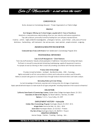 eela muzzarelli cosmetology resume resume for hair stylist and cosmetologist  cosmetology objective for resume - Resumes