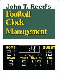 High School Football Take A Knee Chart John T Reeds Football Clock Management Book Page