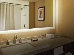 mirror with integrated lighting. Bathroom Lightingr Built In Light Bath With Lights Shaving Integrated Mirror Lighting E