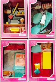 mini furniture sets. our generation lori loft dollhouse furniture sets lot for 6 mini 2