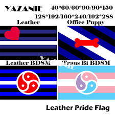 yazanie 128 192cm 160 240cm 192 288cm big leather rights pride flags and banners rainbow car hand flag