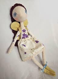 handmade fairy doll natural fairy doll unique fairy by felthink
