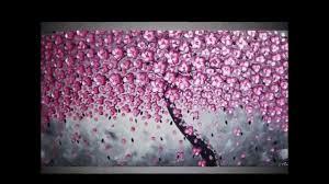 tree paintings textured 3d acrylic art part 5 malerei kunst gemälde leinwand baum bäume by ilonka