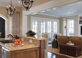 Nice Family Room Additions Granite Countertops Design. Kitchen ... Great Pictures