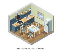home element furniture. wonderful home vector isometric set of kitchen furniture and household appliances icons  3d flat interior design and home element furniture o