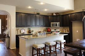 Kitchen Cabinet Espresso Color Diy Staining Kitchen Cabinets Dark Espresso Quicuacom