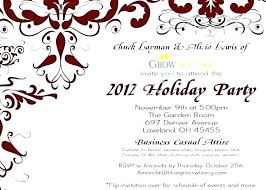 Holiday Office Party Invite Wording Ideas Sepulchered Com