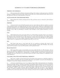 Free Business Purchase Agreement Asset Purchase Agreement Template Themindsetmaven 22