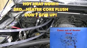 ford expedition 4 6 heater flush! hot heat now!! after 3rd 2000 expedition heater core replacement cost ford expedition 4 6 heater flush! hot heat now!! after 3rd heater core flush youtube