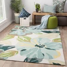 teal green area rugs isidore handmade fl blue rug 7 6 x 9 on