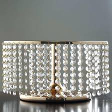 crystal stand gold and crystal pendants metal chandelier wedding cake stand crystal stand item