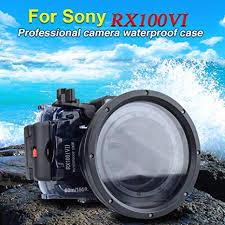 Sony DSC-RX100 VI 60m/195ft <b>Sea frogs</b> Underwater <b>Camera</b> ...