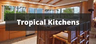 Tropical Kitchen Design Interesting Inspiration