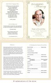 Free Obituary Template For Microsoft Publisher Free Funeral Program