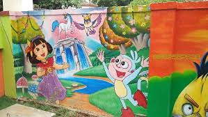 Small Picture Kids painting play school art in chennai artist in chennai