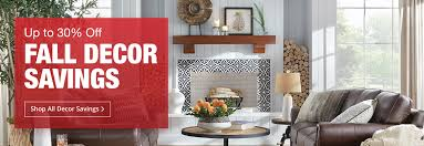 up to 30 off fall decor savings