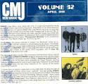 CMJ New Music, Vol. 32