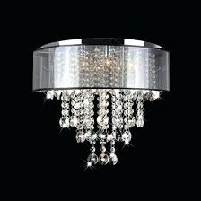 crystal flush mount chandelier lighting design ideas small semi flush mount crystal black with regard to