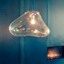 lighting design for clear hand blown glass pendant lights and foxy clear hand blown glass pendant