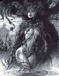 Poison Ivy by Jason Pearson, in Carlos Simoes's Splendor in the Grass Comic  Art Gallery Room
