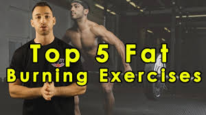 top 5 fat burning exercises to lose belly fat fast best workout for weight loss cutting men women
