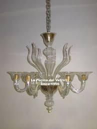 spears murano glass chandelier