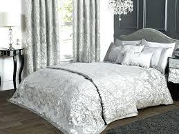black silver bedding sets black white silver bedding sets duvet appealing incredible and damask print photo