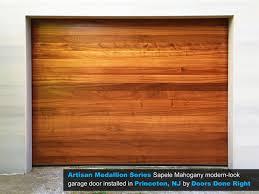 garage doors njDoors Done Right  Garage Doors and Openers  Artisan Medallion