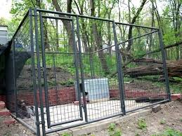 Welded wire dog fence Small Dog Welded Wire Dog Kennels The Welded Wire Dog Kennel With Dog Is In Forest With Welded Wire Dog Animalgraminfo Welded Wire Dog Kennels Dog Kennel Design Welded Wire Fence For
