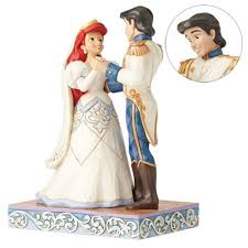 Small Picture Disney Traditions Little Mermaid Ariel Eric Wedding Statue
