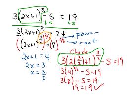 showme solving equations involving rational exponents
