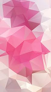 pink polygon iphone 6 background