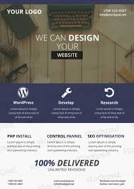 Download Web Design Business Free Psd Flyer Template