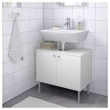 Fullen Waschbeckenunterschrank 2 Türen Weiß