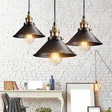 Us 1239 9 Offnordic Vintage Pendant Light Loft Hanging Light Fixtures Retro Industrial Lamp Edison Bulb For Dining Room Kitchen In Pendant Lights