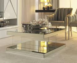 home creative enchanting coffee table ideas staggering modern mirrored coffee table modern within enchanting mirrored