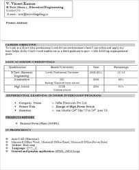 Free Download Electrical Engineer Resume