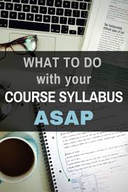 17 best ideas about college study tips college what to do your course syllabus asap
